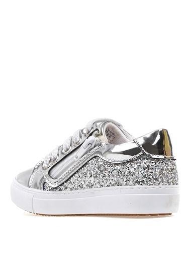Pink Step Yürüyüş Ayakkabısı Gümüş